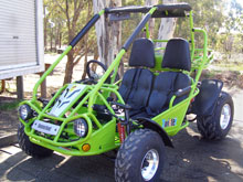 150 CC Twister GTR from Goulburn Off Road Carts
