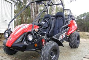 Twister Hammerhead 150cc GTS Cart from Goulburn Off Road Carts