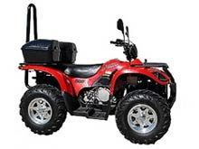 JAG500 4x4 ATV Quad Bike from Goulburn Off Road Carts