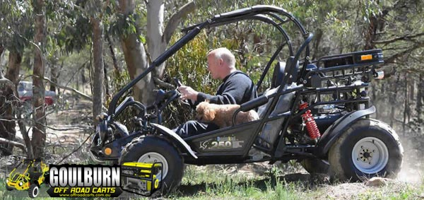 Phil Bonser - Off Road Carts, Goulburn