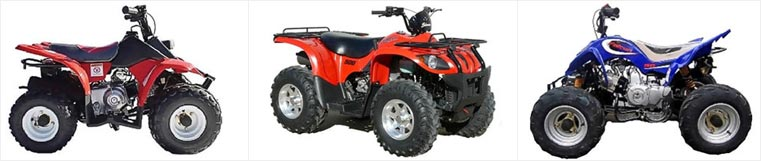 Quad Bikes and ATV Products from Goulburn Off Road Carts