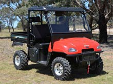 SX100 4WD Tipper from Goulburn Off Road Carts