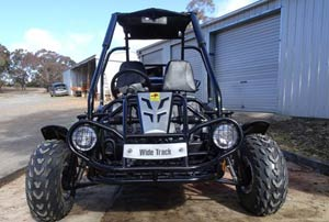 Twister 150 Widetrack from Goulburn Off Road Carts