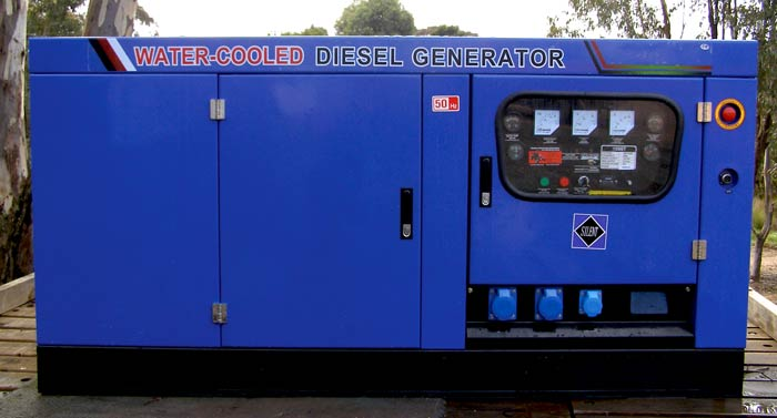Large Commercial Generators - ECOGEN 10ST1 - from Goulburn Off Road Carts.