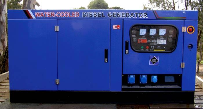 Large Commercial Generators - ECOGEN 10ST1 - from Goulburn Off Road Carts.
