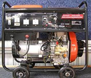 DEK180WE Petrol Welder Generator from Goulburn Off Road Carts