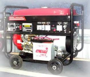DJ180WE Petrol Welder Generator from Goulburn Off Road Carts