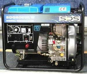 SDG6500EW Petrol Welder Generator from Goulburn Off Road Carts