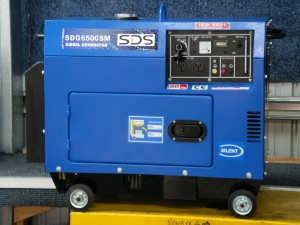 SDG6500s Silent Diesel Auto Voltage Regulator Generator from Goulburn Off Road Carts
