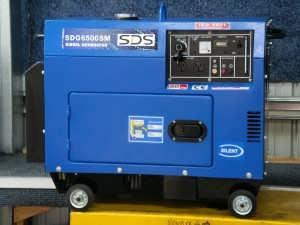 SDG6500s Silent Diesel Auto Voltage Regulator Generator from Goulburn Off Road Carts