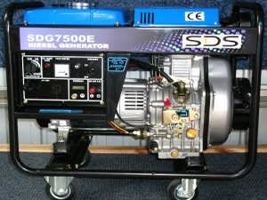 SDG7500E Diesel Auto Voltage Regulator Generator from Goulburn Off Road Carts