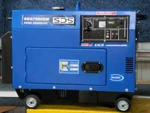 SDG7500s Silent Diesel Auto Voltage Regulator Generator from Goulburn Off Road Carts