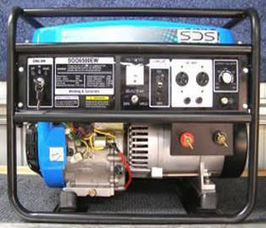 SDG6500EW Petrol Welder Generator from Goulburn Off Road Carts