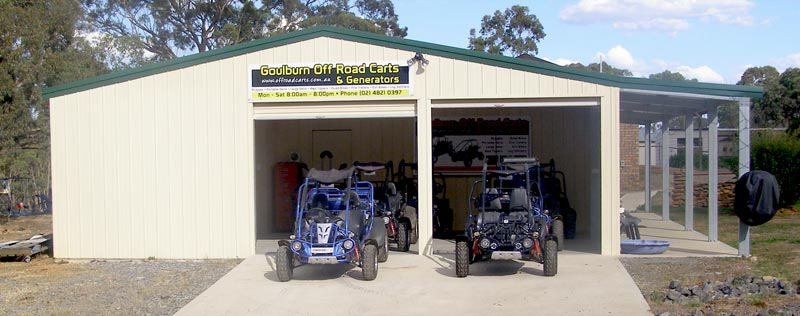Goulburn Off Road Cart Workshop