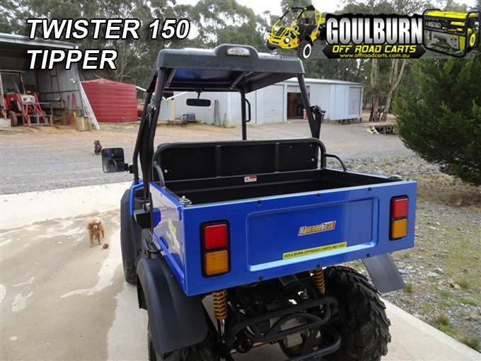 Twister 150 Tipper from Goulburn Off Road Carts