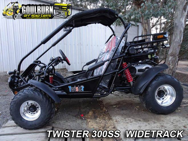 Twister 300SS Widetrack from Goulburn Off Road Carts