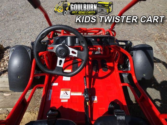 Kids Twister Cart from Goulburn Off Road Carts