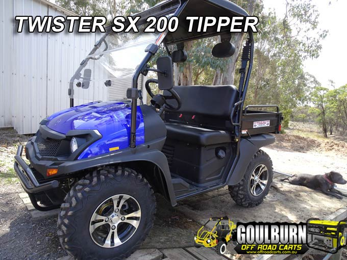 SX200 Tipper from Goulburn Off Road Carts