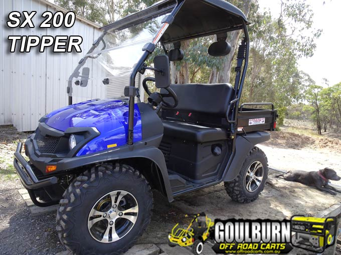SX200 4WD Tipper from Goulburn Off Road Carts