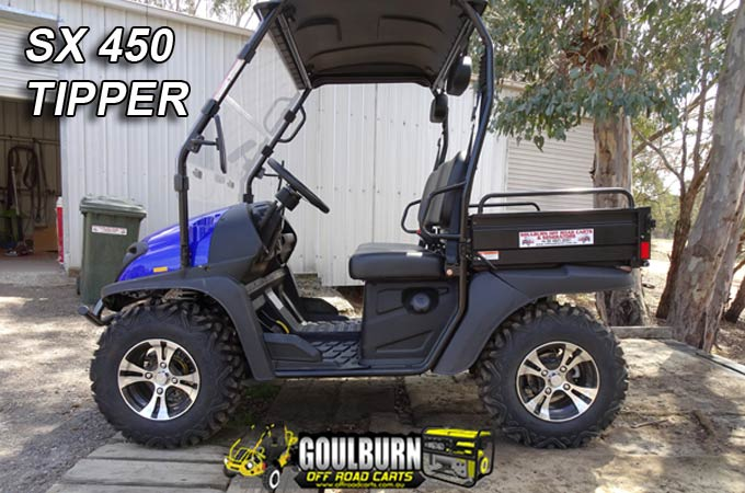 SX450 4WD Tipper from Goulburn Off Road Carts