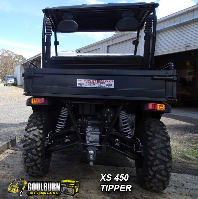 XS450 Tipper from Goulburn Off Road Carts