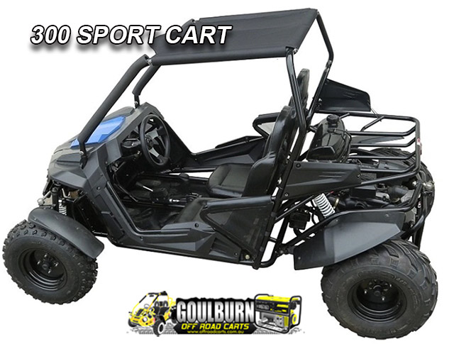Sport 300 Cart from Goulburn Off Road Carts