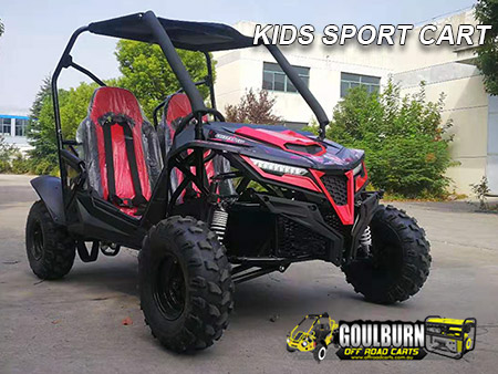 Click for the Kids Sport Cart from Goulburn Off Road Carts