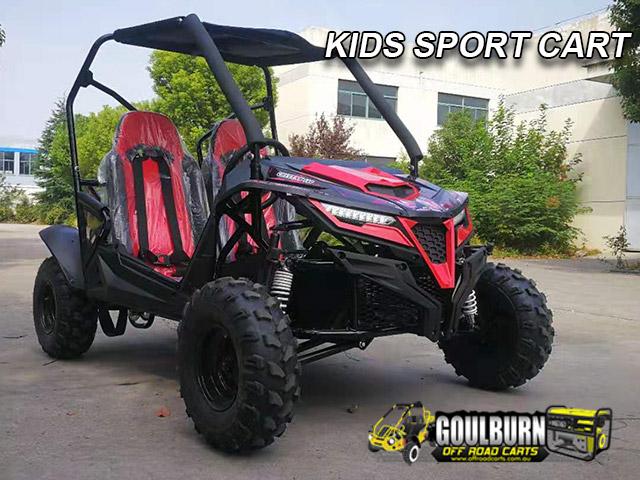 2021 Kids Sport Cart from Goulburn Off Road Carts