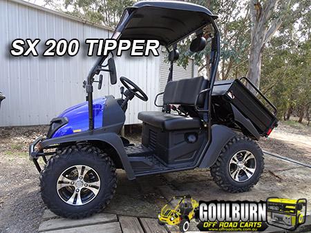 SX200 Tipper from Goulburn Off Road Carts