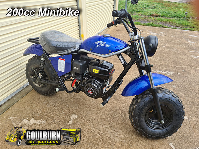200cc Minibike from Goulburn Off Road Carts
